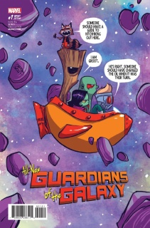 All-New Guardians of the Galaxy #1 (Young Cover)