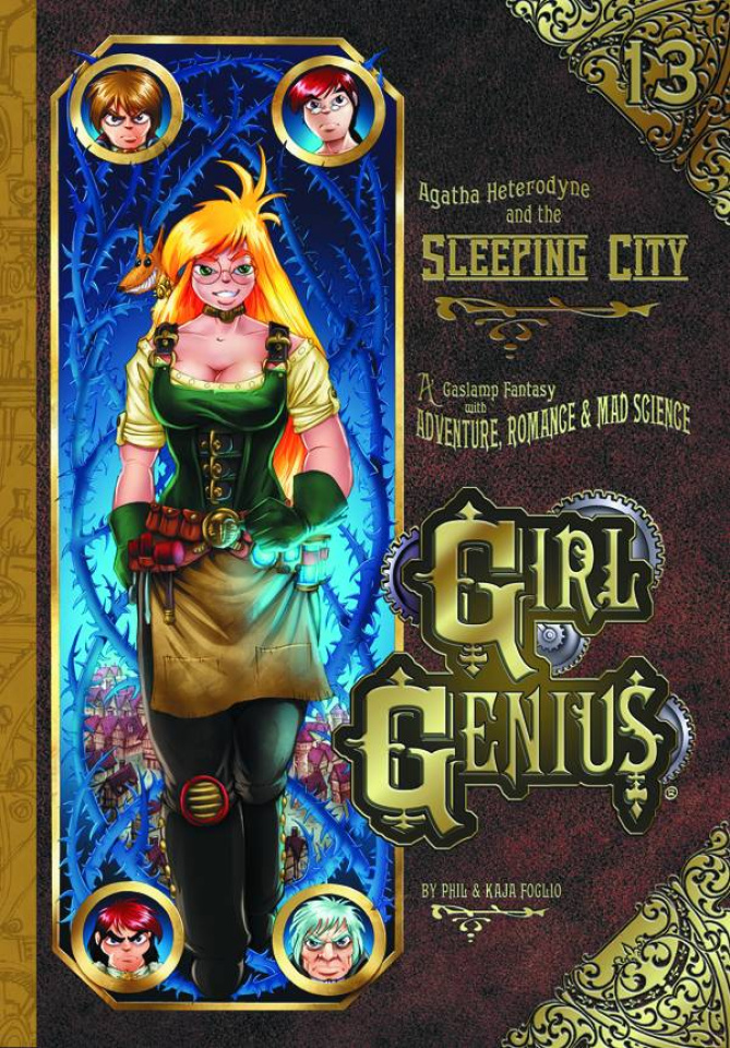 Girl Genius Vol. 13: Agatha Heterodyne and the Sleeping City