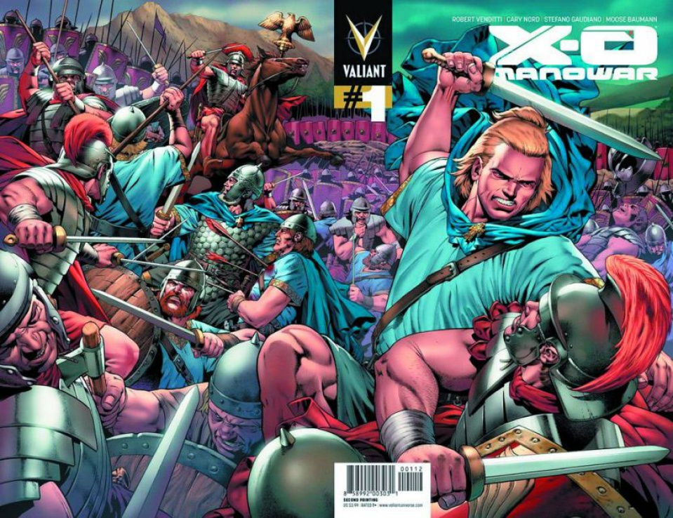 X-O Manowar #1 (2nd Printing)