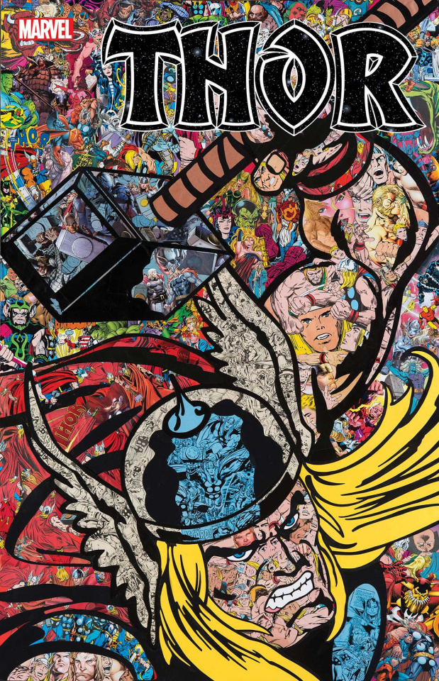 Thor #1 (Mr. Garcin Collage Cover)