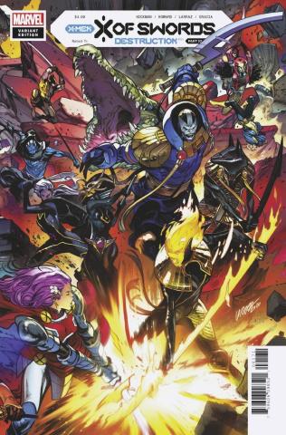 X of Swords: Destruction #1 (Larraz Connecting Cover)