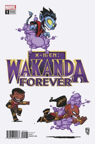 Wakanda Forever: X-Men #1 (Young Cover)