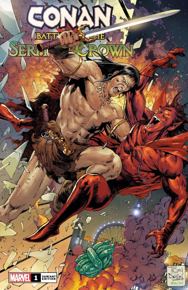 Conan: Battle for the Serpent Crown #1 (Daniel Cover)