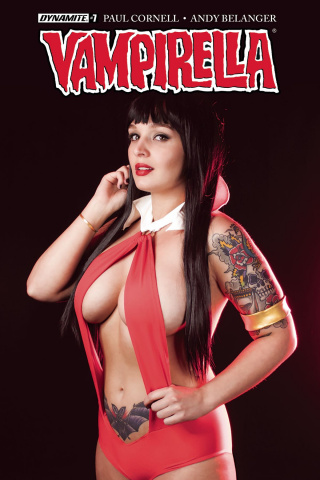 Vampirella #7 (Cosplay Cover)