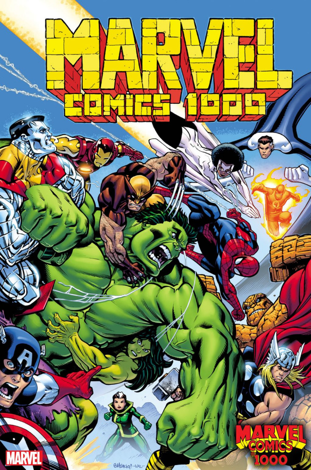 Marvel Comics #1000 (McGuinness Cover)