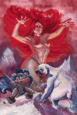 The Cimmerian: The Frost Giant's Daughter #3 (Alburquerque Cover)