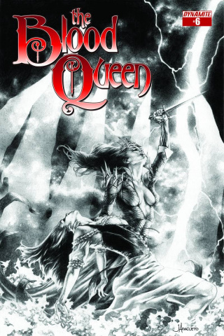 The Blood Queen #6 (Anacleto Cover)