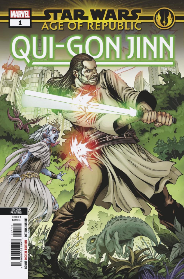 Star Wars: Age of Republic - Qui-Gon Jinn #1 (Smith 2nd Printing)