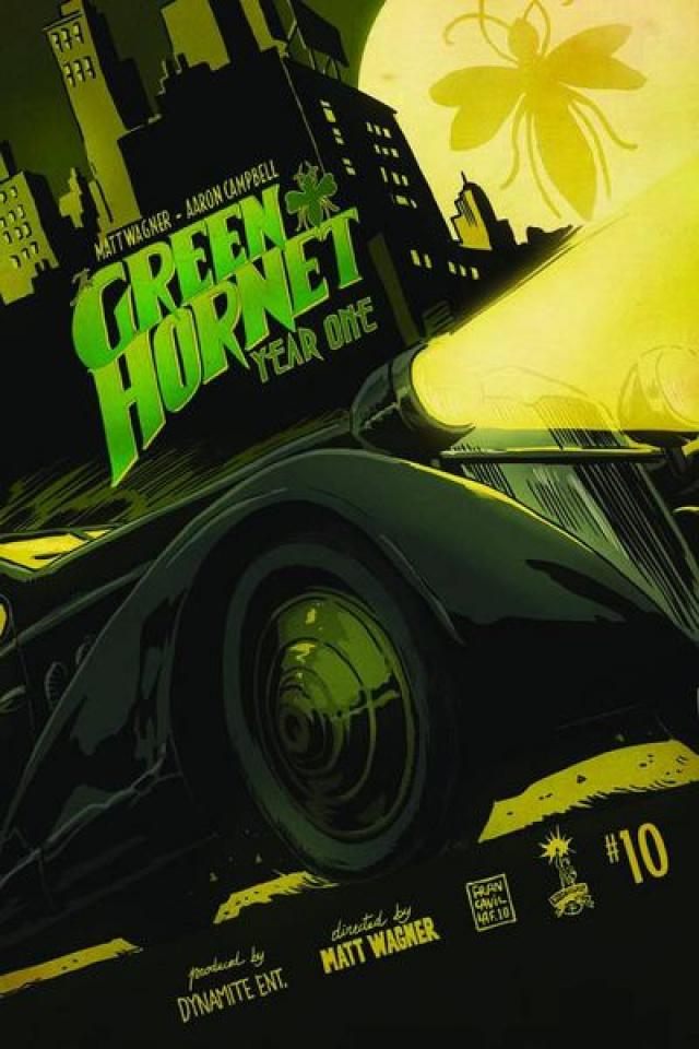 Green Hornet: Year One #11
