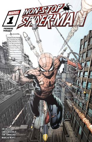 Non-Stop Spider-Man #1 (Premiere Cover)