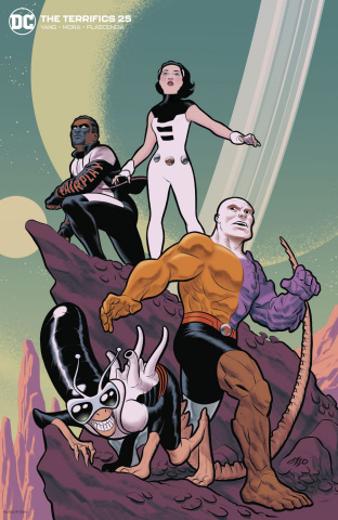 The Terrifics #25 (Michael Cho Cover)