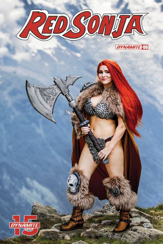 Red Sonja #6 (Cosplay Cover)