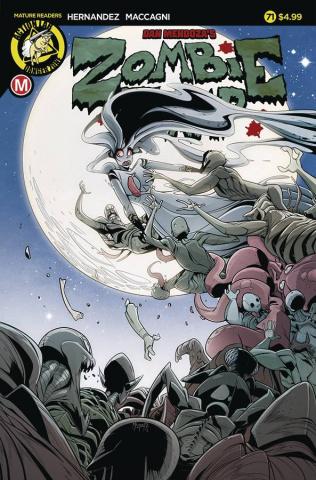 Zombie Tramp #71 (Maccagni Cover)