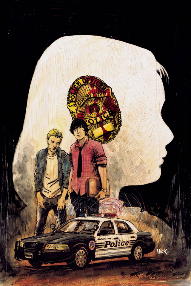 Nancy Drew and The Hardy Boys #1 (Hack Cover)