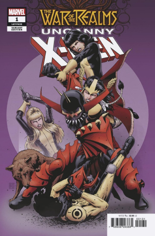 The War of the Realms: Uncanny X-Men #1 (Christopher Cover)