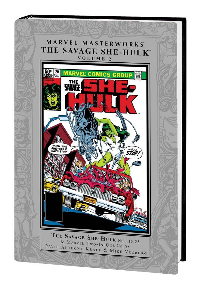 The Savage She-Hulk Vol. 2 (Marvel Masterworks)