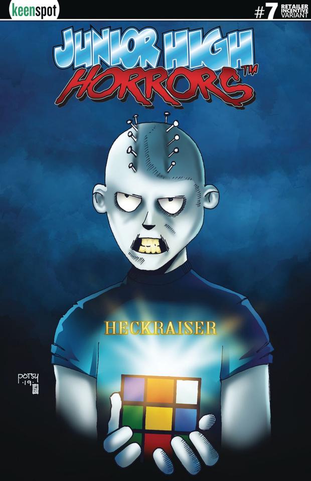 Junior High Horrors #7 (Heckraiser 5 Copy Cover)