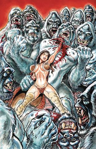 Cavewoman: Freakin' Yetis! #1 (Massey Cover)