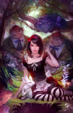 Grimm Fairy Tales: Wonderland #47 (Burns Cover)