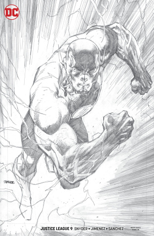 Justice League #9 (Jim Lee Pencil Cover)