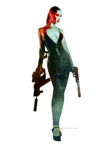 Gun Honey #1 (10 Copy Sienkiewicz Virgin Cover)