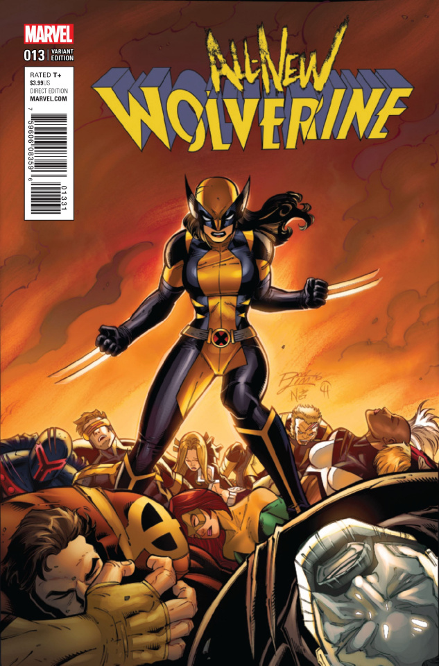 All-New Wolverine #13 (Lim Classic Cover)