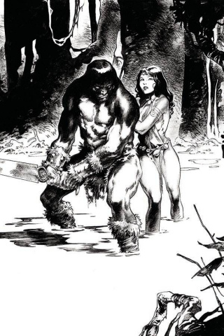 The Cimmerian: Iron Shadows in the Moon #3 (30 Copy Dibari Virgin Cover)