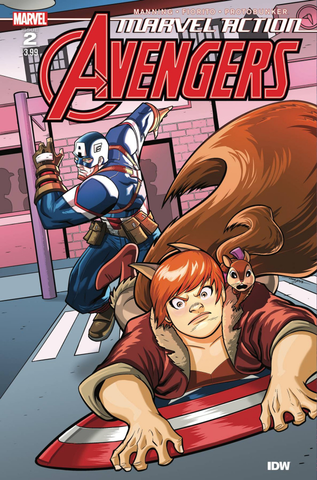 Marvel Action: Avengers #2 (Mapa Cover)