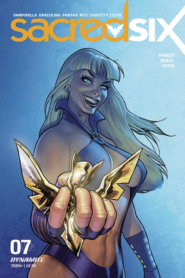 Sacred Six #7 (Roux Cover)
