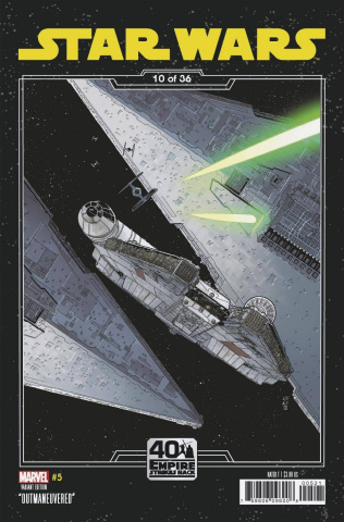 Star Wars #5 (Sprouse Empire Strikes Back Cover)