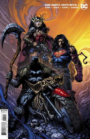 Dark Nights: Death Metal #1 (David Finch Batman Cover)