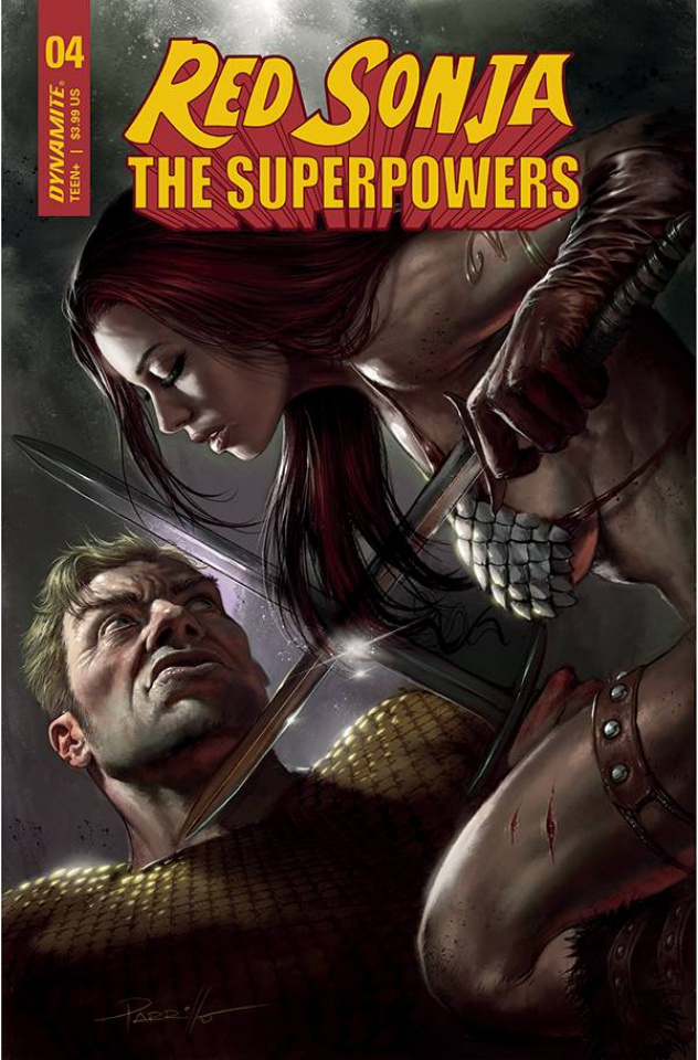 Red Sonja: The Superpowers #4 (Parrillo Cover)