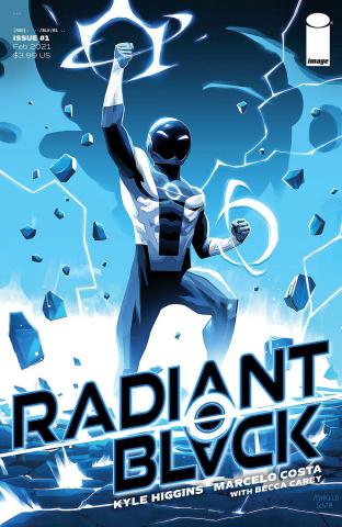 Radiant Black #1 (10 Copy Costa Cover)