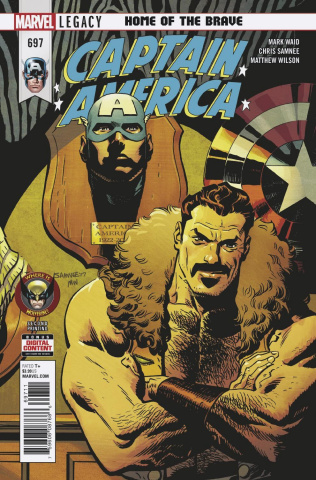 Captain America #697 (2nd Printing)