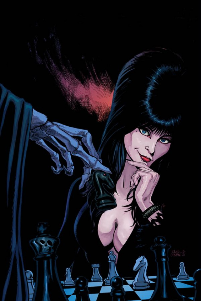 Elvira: Mistress of the Dark #6 (10 Copy Cermak Virgin Cover)