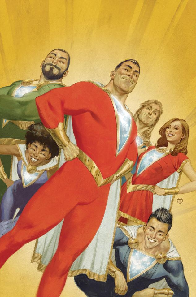 Shazam! #13 (Card Stock Julian Totino Tedesco Cover)