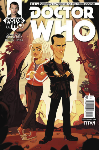 Doctor Who: New Adventures with the Ninth Doctor #2 (Byrne Cover)