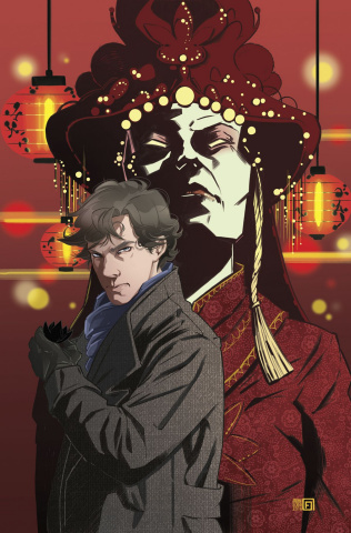 Sherlock: The Blind Banker #5 (Florean Cover)