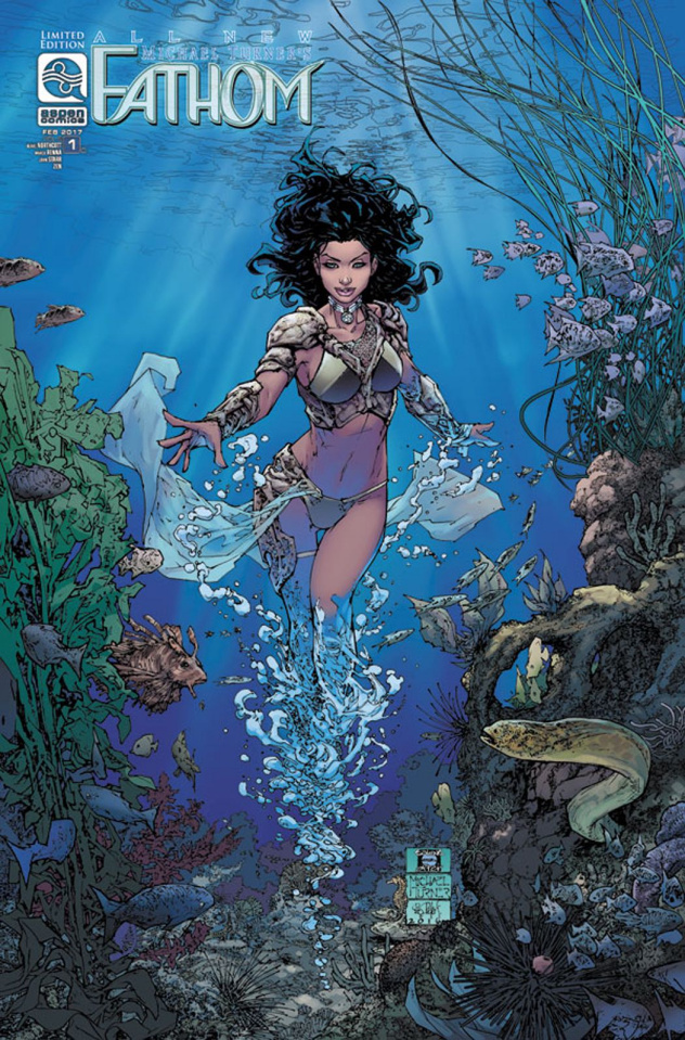 All New Fathom #1 (12 Copy Cover)