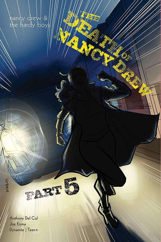 Nancy Drew & The Hardy Boys: The Death of Nancy Drew #5 (Eisma Cover)