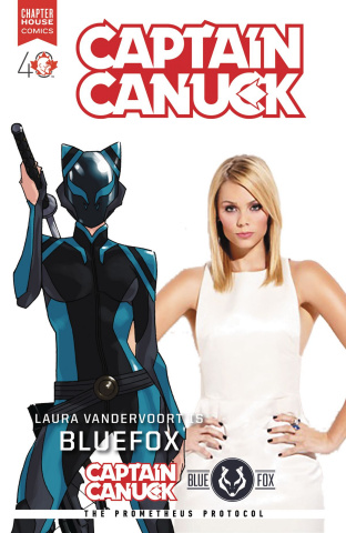 Captain Canuck #9 (Photo Cover)