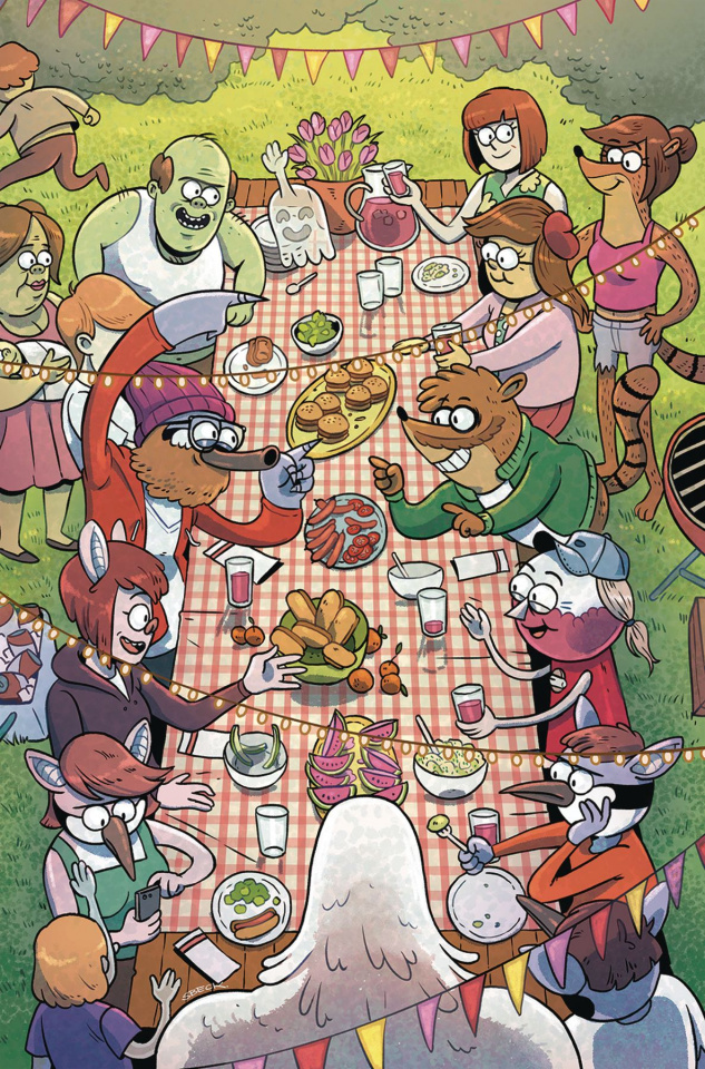 Regular Show: 25 Years Later #3 (Subscription Beck Cover)