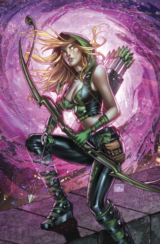 Grimm Fairy Tales: Robyn Hood - The Legend #1 (Ruffino Cover)