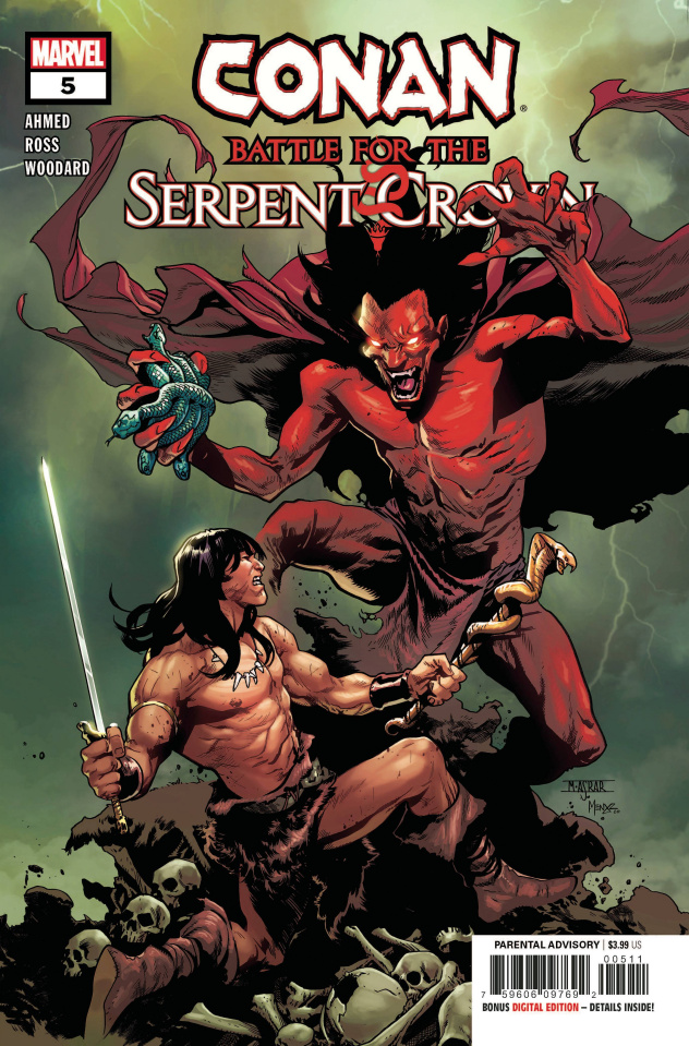 Conan: Battle for the Serpent Crown #5