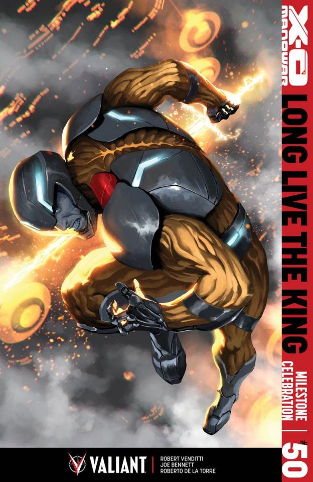 X-O Manowar #50 (Djurdjevic Cover)