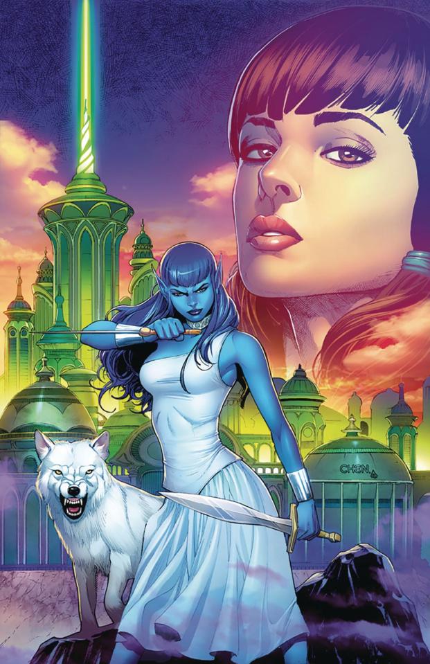 Oz: The Heart of Magic #2 (Chen Cover)