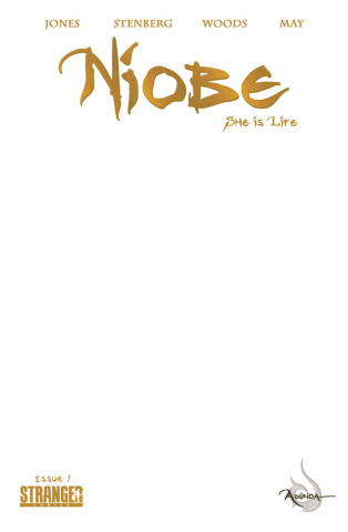 Niobe: She is Life #1 (Blank Sketch Cover)