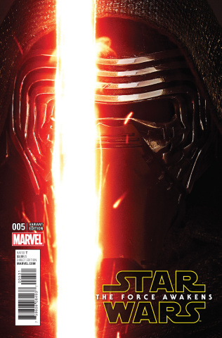 Star Wars: The Force Awakens #5 (Movie Cover)