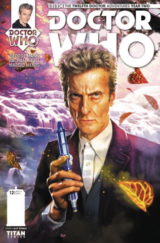 Doctor Who: New Adventures with the Twelfth Doctor, Year Two #12 (Ronald Cover)