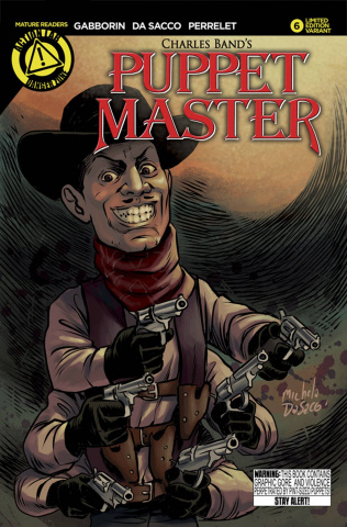 Puppet Master #6 (Six Shooter Cover)